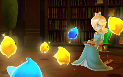 Rosalina and the Lumas Reading